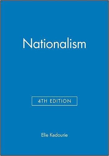 elie kedourie nationalism pdf