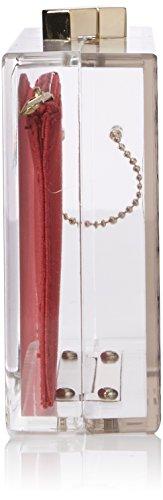 Damen Borsa Acrylic Trasparente Clutch Love Moschino S4ZheBr