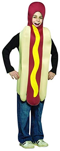 Rasta Imposta - Hot Dog Child Costume, One-Size (7-10)