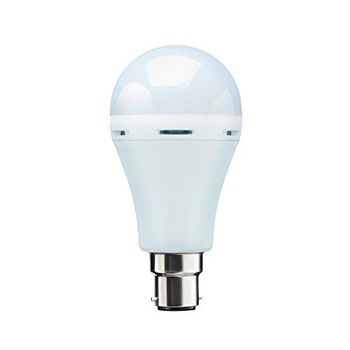 Syska SSK-EMB-07-01-B22 7-Watt Rechargeable Emergency Bulb (Cool Day Light)