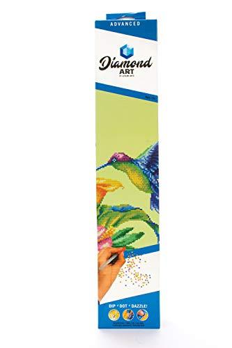 Leisure Arts 49939 DAK Diamond Art Kit 14x16 Advanced Hummingbird, None from LEISURE ARTS