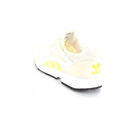 Adidas Originalals Racerite Sneakers Voor Dames Wit-zwart-geel