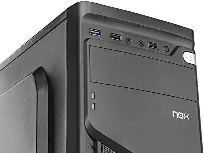 Nox LITE020 - NXLITE020 - Caja PC, ATX, USB 3.0, Color Negro: Nox: Amazon.es: Informática