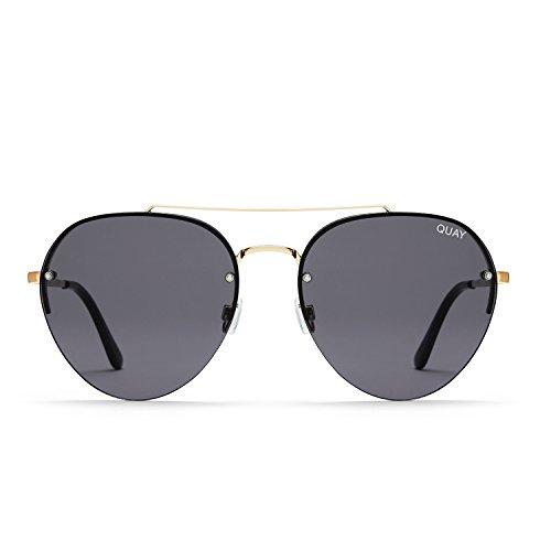 Quay Australia SOMERSET Women's Sunglasses Modern Aviator Sunnies - - Sunnies Aviator