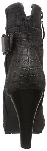 Gerry Weber Liliana 17, Zapatillas de Estar por Casa para Mujer Gris - Grau (grigio-kombi 768)