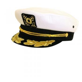 Dorfman Pacific Co. Men's Yacht Cap, White, One