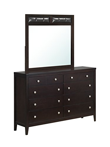 771 Sectional - Global Furniture Mirror, Antique Black