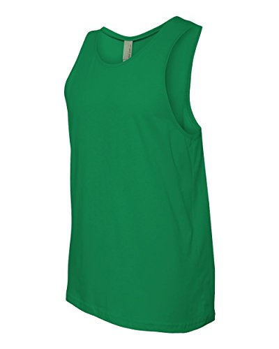 Next Level Apparel mens Next Level Premium Jersey Tank(3633)-KELLY GREEN-S