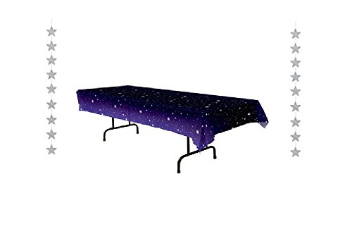 (STARRY Night - PARTY Decorations - OUTER Space - STARS - Tablecloth (54