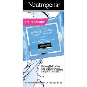 Neutrogena maquillaje Remover Limpieza towelettes, 114 towelettes