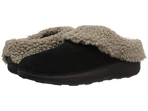 [FitFlop(フィットフロップ)] レディースボートシューズスリッポン靴 Loaff Snug Slipper [並行輸入品] US 11(28.5cm) M (B) ブラック B07N47NRMP