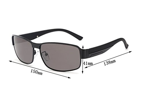 Color UV Aviador 400 polarizadas de protección 5 Marco Hombre para Yxsd Gafas Sol 4 SunglassesMAN de wgqPxFOB1