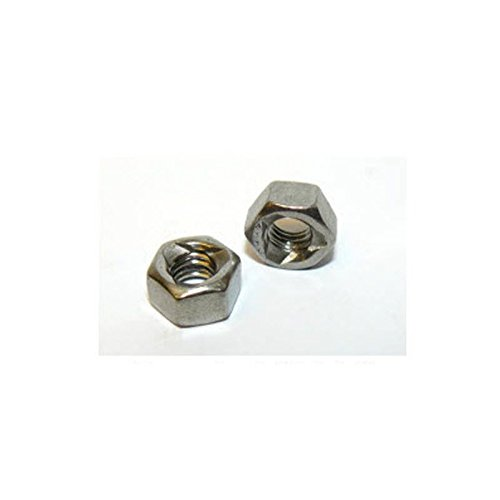 M6 A4 Stainless Steel Prevailing Torque self Lock nut DIN980 Pack Size : 15 Generic