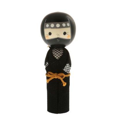 Amazon.com: Usaburo japonés Kokeshi muñeca: Kawai Ninja ...
