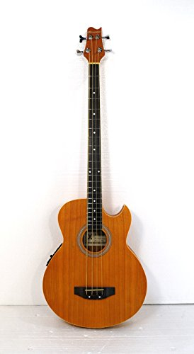 4 String Acoustic Electric Cutaway Bass Guitar by Harmonia