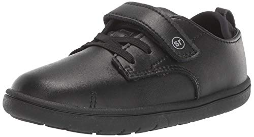 - Stride Rite Boys' SRT Giles Sneaker, Black, 6 W US Toddler