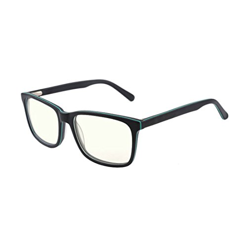 Blue Light Blocking Glasses - Computer Eyewear for Deep Sleep - Digital Eye Strain Prevention - Green Glasses Blue Light And Blocking