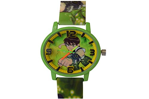VITREND™ Ben Ten Round Dial Analog Watch for Boys and Girls  Sent as per Available Colour