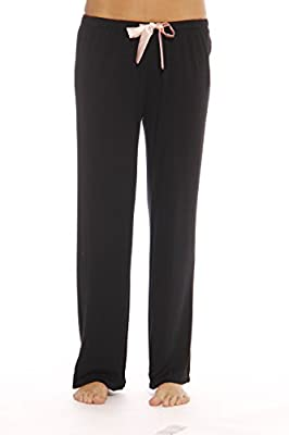 Christian Siriano New York Comfy Stretch Solid Pajama Pants for Women