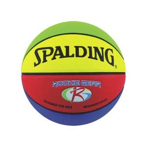 (Spalding Rookie Gear Basketball - Multi-Color - Youth Size (27.5