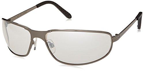Uvex S2454 Tomcat Safety Eyewear, Gunmetal Frame, Mirror 50 Hardcoat Lens