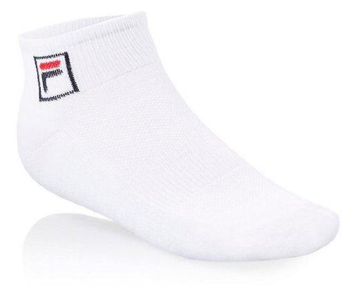 Fila Women's Quarter Socks,White,One Size