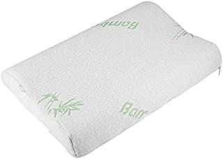 Almohada de bambú Ajustable Para niños Rebote lento Espuma de Memoria Almohada Contorno de salud Espuma de Memoria Para Cuello Soporte Para el hombro leanBonnie
