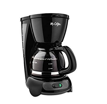 (Mr. Coffee Simple Brew 4-Cup Switch Coffee Maker, TF Series (black))