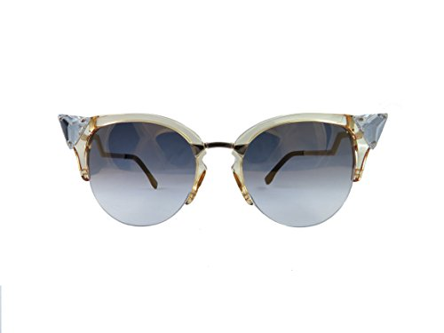 Fendi 0041/S 27L Yellow Gold with (FQ) Gold Lenses 52MM