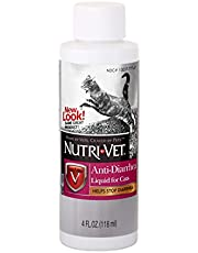 Nutri-Vet Anti-Diarrhea Liquid for Cats   Detoxifying Agent Works Against Bacterial Toxins   Helps Sooth Upset Stomach and Stop Diarrhea   4oz