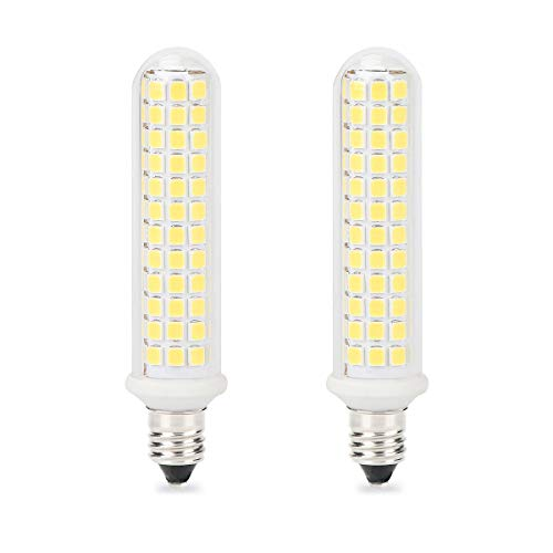 E11 LED Bulb, Mini Candelabra Base, 100W 120W Halogen Bulb Replacement,10W,1100LM, AC120V, Dimmable E11 LED Light Bulb, Patented Product, for Indoor Decorative Lighting, White 6000K, - Patented Led