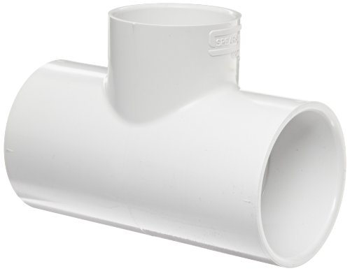Schedule 40 Pvc Socket - Spears 401 Series PVC Pipe Fitting, Tee, Schedule 40, White, 3