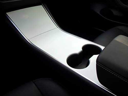 Matte White Model - EV Wraps Tesla Model 3 Center Console Wrap - Matte White