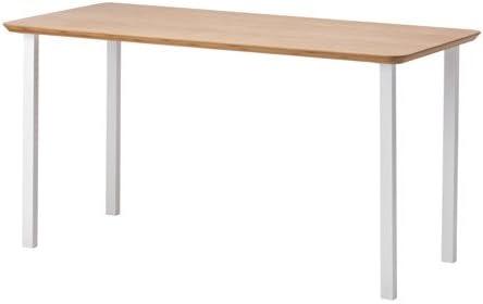 Ikea Hilver/GODVIN - Mesa, bambú, Blanco - 140x65 cm: Amazon.es: Hogar
