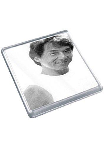 JACKIE CHAN - Original Art Coaster #js002