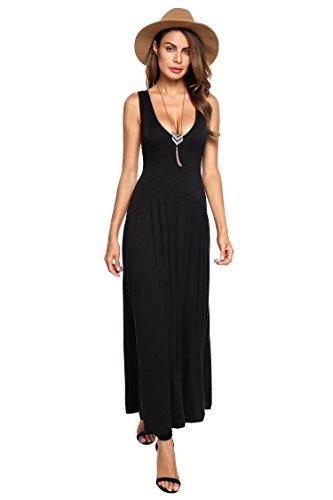 Jersey Pleated V-Neck Dress - 3