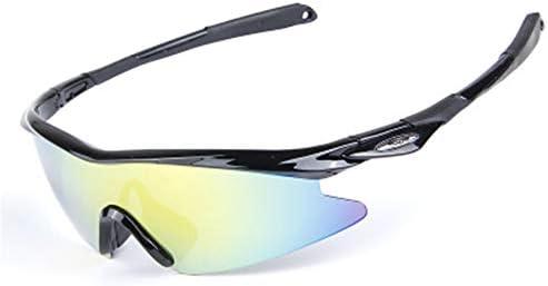 偏光スポーツメガネサンドプルーフフラットウィングライディングメガネ男性と女性の釣りに最適なサイクリングゴルフ