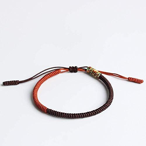 (TALE Lucky Rope Bracelet Tibetan Buddhist Handmade Knots - Dharma)