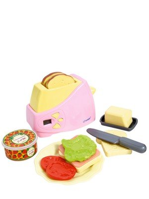 Red Box Electronic Toaster Playset Toy
