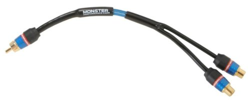 Monster MPC I200 Y-2F Low Noise RCA Y-Adapter (2 feet)