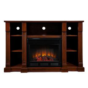 Kendall Electric Media Fireplace Espresso Lowes
