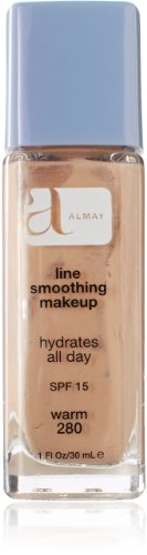 (Almay Line Smoothing Makeup with SPF 15, Warm 280, 1-Ounce Bottles (Pack of 2))