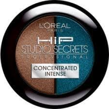 L'Oreal Paris, HIP Studio Secrets Professional, Concentrated Shadow Duo, Forgiving (236), .08 Oz., Pack of 2