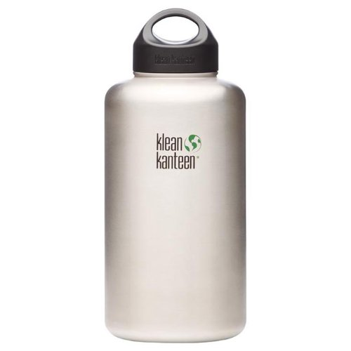 Klean Kanteen Wide Mouth Stainless Steel Water Bottle (64-Ounce) (Klean Kanteen Water Bottles)