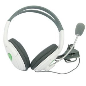 Professional Headphone with Microphone for XBOX 360 (Lifetime Warranty, Bulk Packaging)