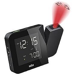 Digital Tilt Projection Alarm Clock by Braun