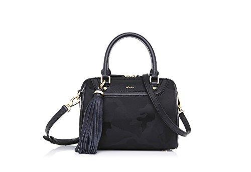 bonia-womans-black-alluring-satchel-s