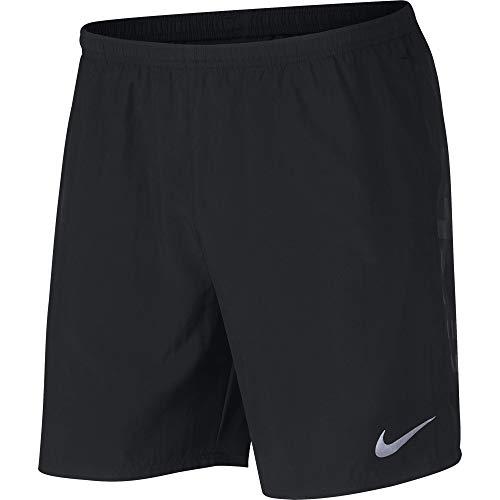 T shirt nero elementi per uomo riflettenti Nike Run argento rrwqd7z