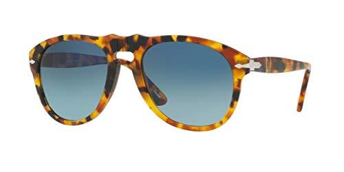 Persol PO0649 Sunglasses-1052S3 Madreterra (Blue Gradient Polarized ()