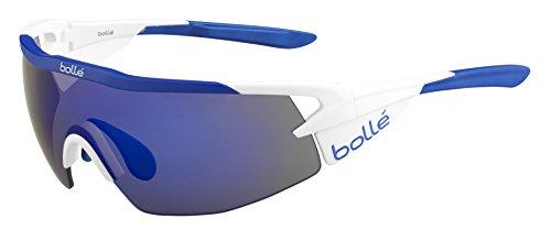 Bollé Aeromax Lunettes de soleil Aeromax Matte White / Blue Blue Violet oleo AF